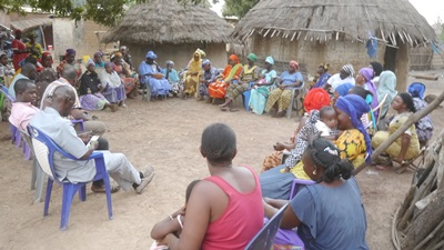 Kédougou: Les femmes de Dinguessou voteront pour Macky Sall