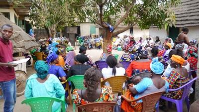 Kédougou: Mme Awa Françoise Diallo de la COJEM mobilise pour la réélection de Macky Sall
