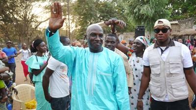 Kédougou: Jean noël Bindia mobilise pour Koumouna Biagui et pour Macky