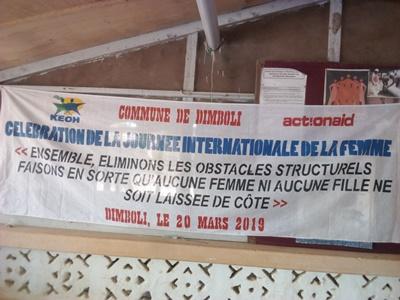 Dimboli célébré la journée internationale des droits des femmes avec ses partenaires