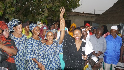 Kédougou: La COJEM/Kédougou fête la victoire de Macky Sall