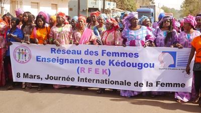 Kédougou: 8 mars, le RFEK transmet les doléances des femmes au gouverneur