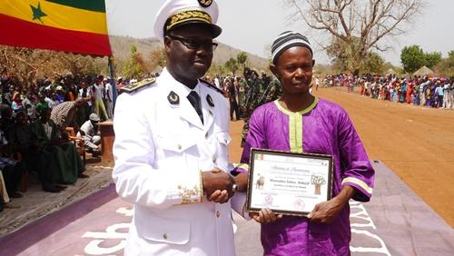 Arrondissement de Fongolimbi, Dimboli a abrité le défilé du 4 avril
