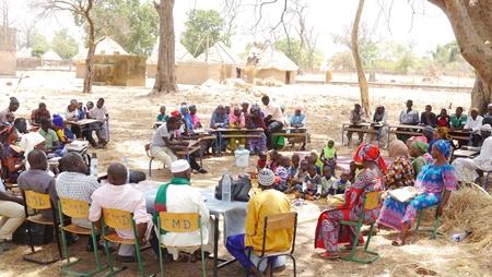 Dakatéli: Le RFEK mobilise la communauté pour l'enrôlement au préscolaire