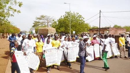 Kédougou: Les travailleurs ont transmis leur cahier de doléances à l'autorité ce 1er mai 2019