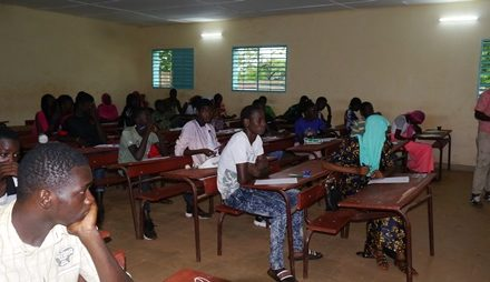 Kédougou: 1483 candidatspour pêcher le BFEM