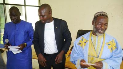 Kédougou: Mamadou Hadji Cissé offre 4, 7 millions FCFA de secours aux personnes vulnérables de sa commune