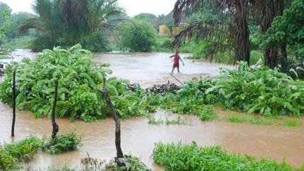 Webtvdescollines: Fortes pluies, le quartier Ndiormy appelle au secours, regardez ici…(vidéo)