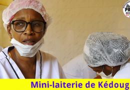 Mme Fatoumata Cissokho se prononce sur le fonctionnement de la mini-laiterie de Kédougou