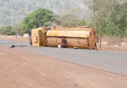 Kédougou : Une citerne du CDE se renverse à Bandafassi et fait deux blessés