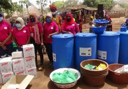 Kédougou : L'amicale des femmes de la mine de PMC soutient  les femmes de Tambanoumouya