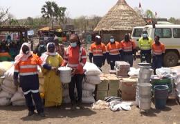 Kédougou : PMC et AMS essuient les larmes des  sinistrés de Koutoufingkhoto