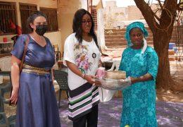 Mme Maïmouna Cissokho, la Directrice de l'ANCTP en visite à Kédougou