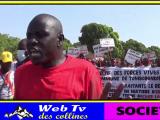 Les jeunes de Tomboronkoto marchent pour revendiquer des emplois à PMC